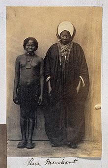 Egyptian Slavemaster and Slave