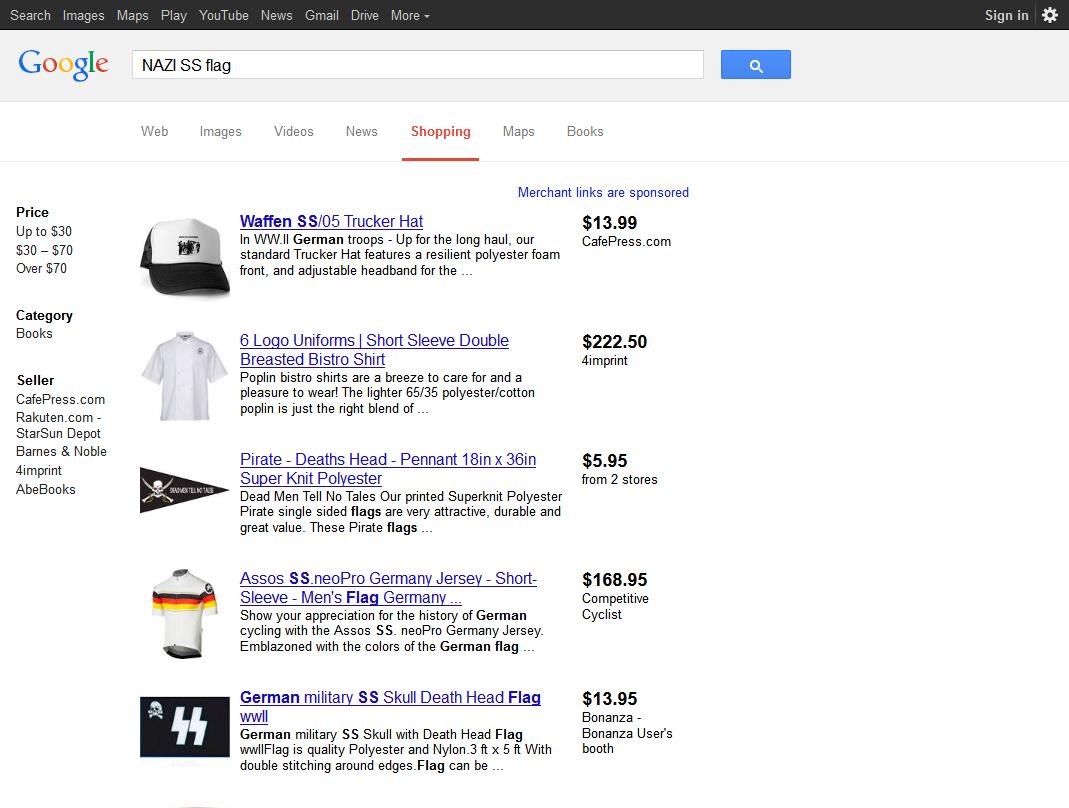 Google, The Battle Flag, and the Schutzstaffel | The Political Hat