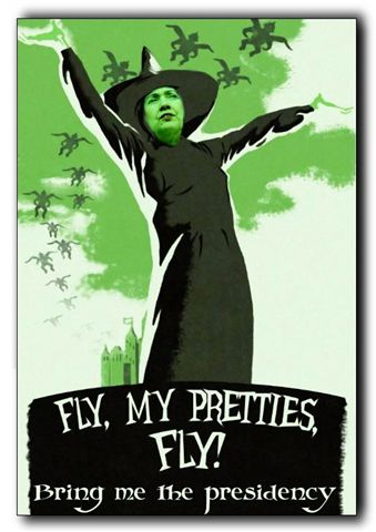 Hillary Fly my Pretties