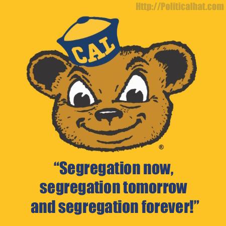 cal bear segregation